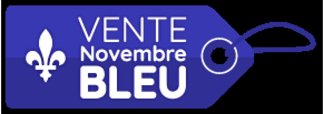 Vente novembre bleu