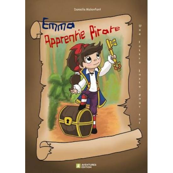 Roman-lettres pour filles - Emma, apprentie pirate - En vente chez l'éditeur seulement