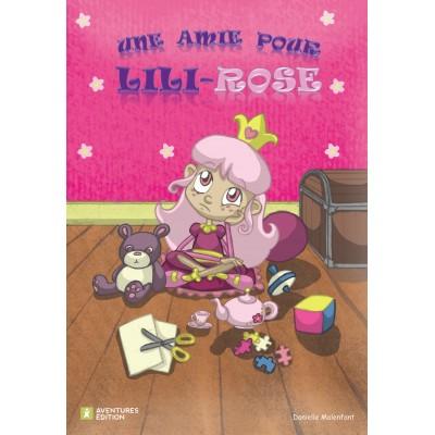 Roman-lettres pour filles - Une amie pour Lili-Rose - En vente chez l'éditeur seulement