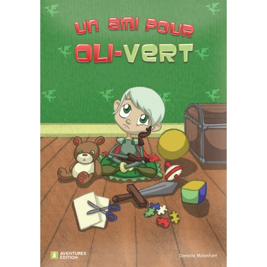 Roman-lettres pour garçons - Un ami pour Oli-Vert - En vente chez l'éditeur seulement