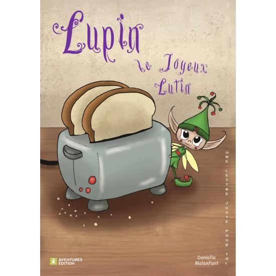 Roman-lettres pour garçons - Lupin, le joyeux lutin - En vente chez l'éditeur seulement