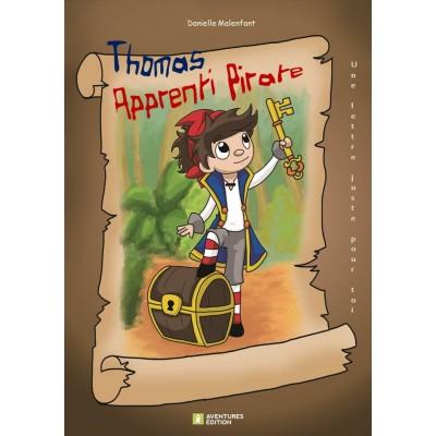 Roman-lettres pour garçons - Thomas, apprenti pirate - En vente chez l'éditeur seulement
